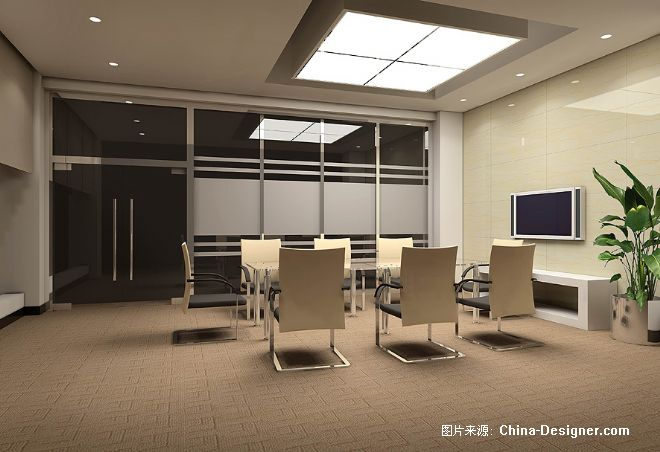 洽谈室-阿杰的设计师家园-办公室