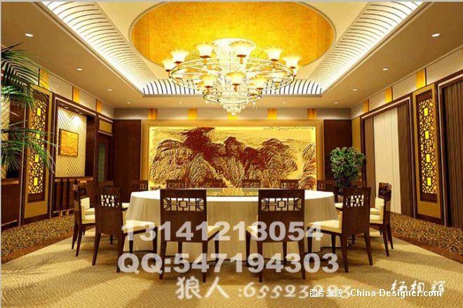 家园包房03学校-杨相辉的设计师餐饮-效果图广州天河区室内设计拷贝图片