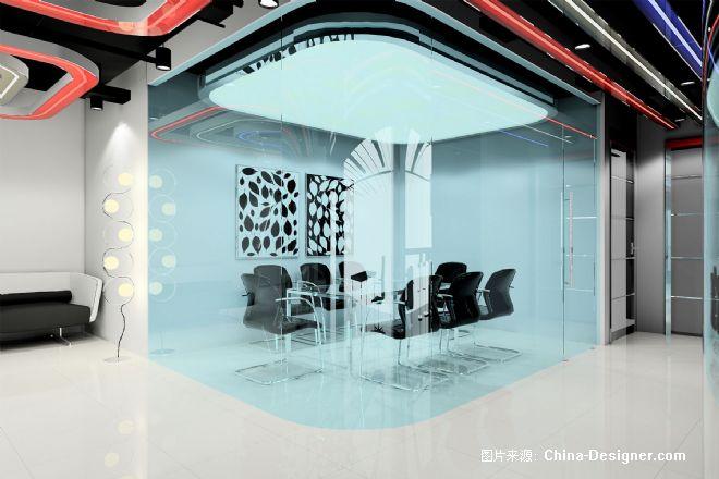 信城通洽谈室-高峰的设计师家园-办公室,现代