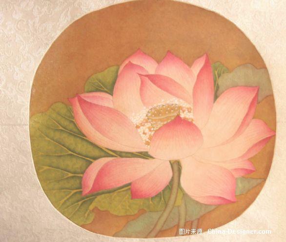 出水芙蓉图-许晶的设计师家园-中式