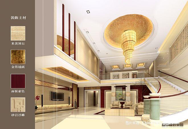 楼中楼效果图-张龙展的设计师家园-奢华,酷家,欧式,现代,中式