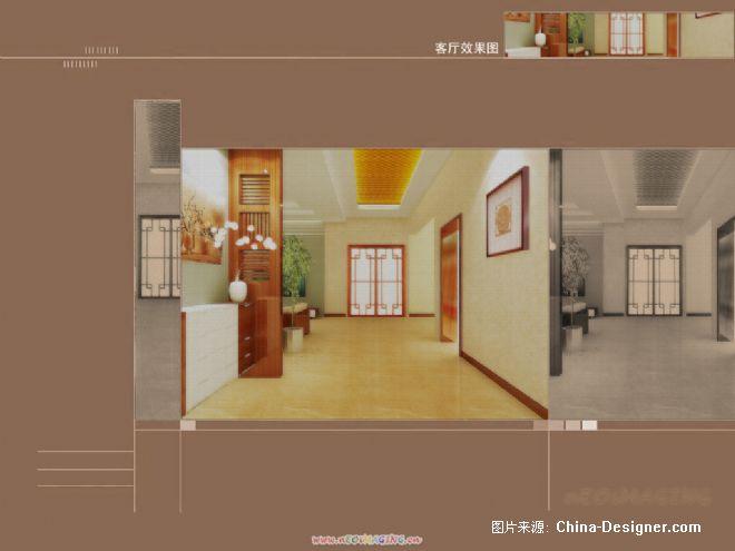 客厅2-无风雨的设计师家园-田园