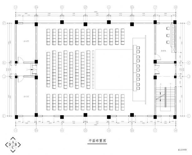 多功能厅平面-杭州天艺设计机构的设计师家园-现代图片