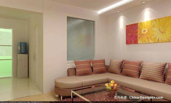 ok-客厅看炕屋-曹善浩的设计师家园-1-5万,三居,客厅,白色,现代
