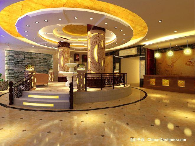 大厅方案-冯国平的设计师家园-休闲会所