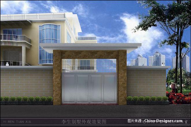 大門-周工的設計師家園-中式