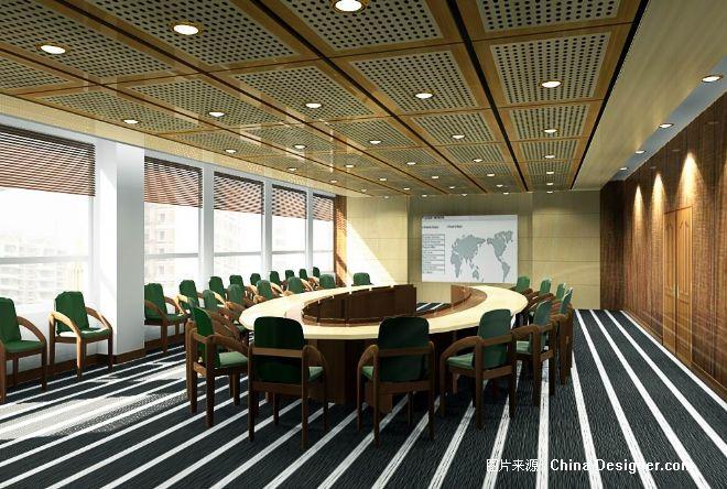 大型会议室-刘彬彬的设计师家园-中式图片