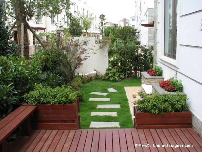 4-自然真相私家庭院景观的设计师家园-欧式,花园,庭院