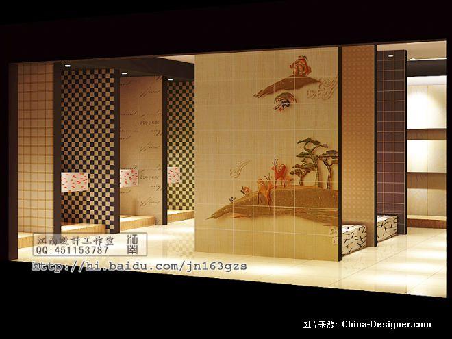 瓷砖店-江南设计工作室的设计师家园-瓷砖店面效果图