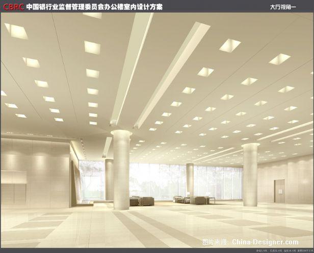 大厅视角一-刘申源的设计师家园-沉稳,现代