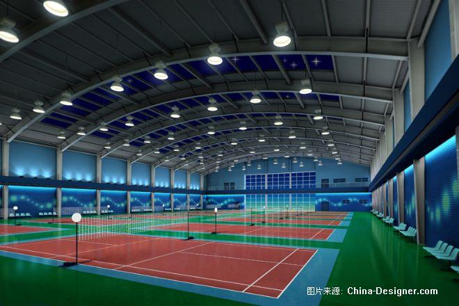 宁夏健身中心羽毛球馆-刘显明的设计师家园-现代