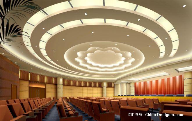 圆形会议室-彭海浪的设计师家园-0