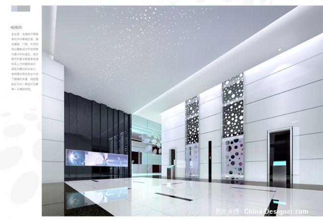 03电梯间-毛强的设计师家园-现代,白色图片