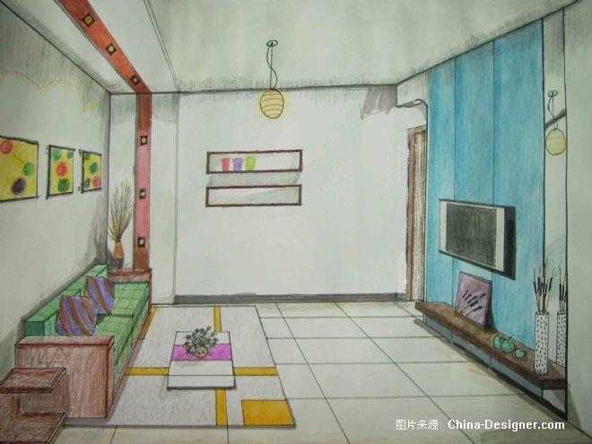 平行透视-陈海英的设计师家园-客厅