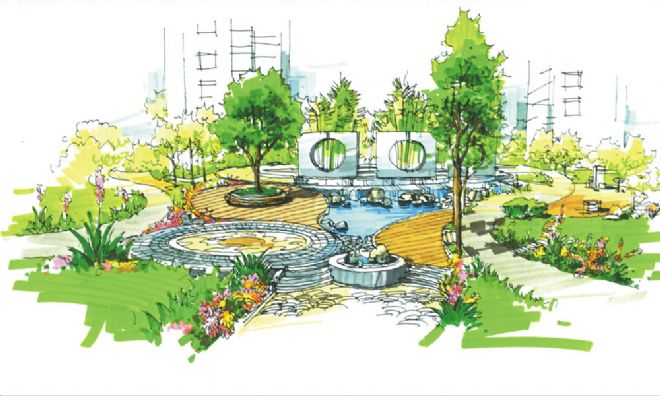 上海式远建筑景观设计新加坡国立景观设计研究生面试图片