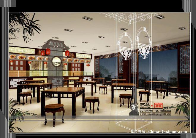 船福海黄粥屋室内b-彭克强的设计师家园-中式
