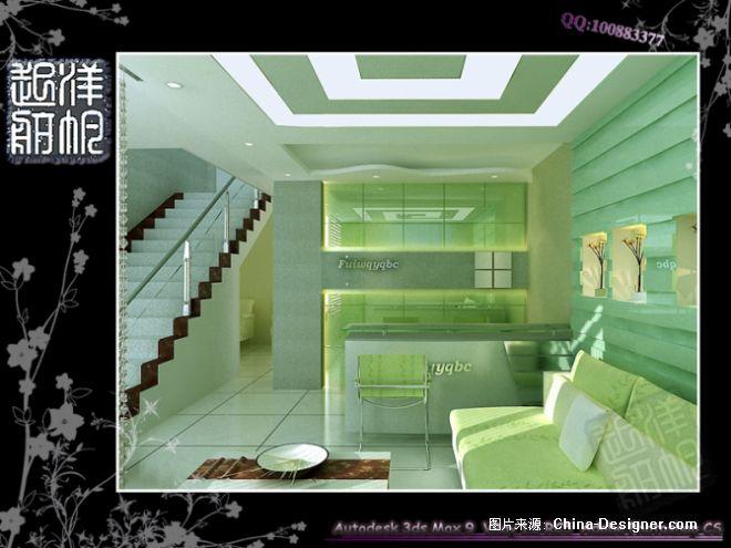 美容院形象墙-韩洋的设计师家园-现代