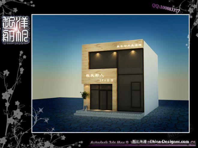 美容院门面-韩洋的设计师家园-现代