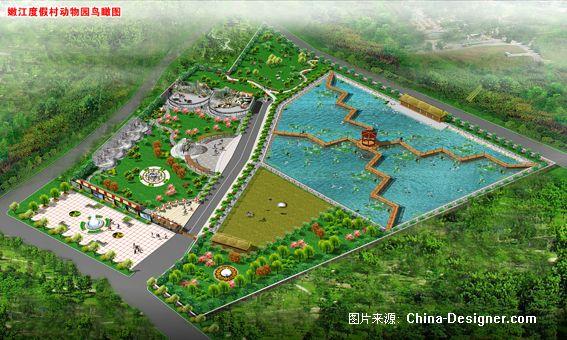 动物园-苗萌的设计师家园-鸟瞰,绿化