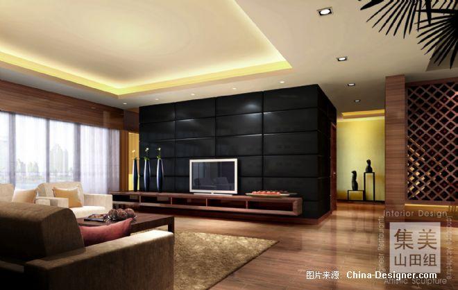 滨江东某住宅样板房2-吴宗建的设计师家园-现代