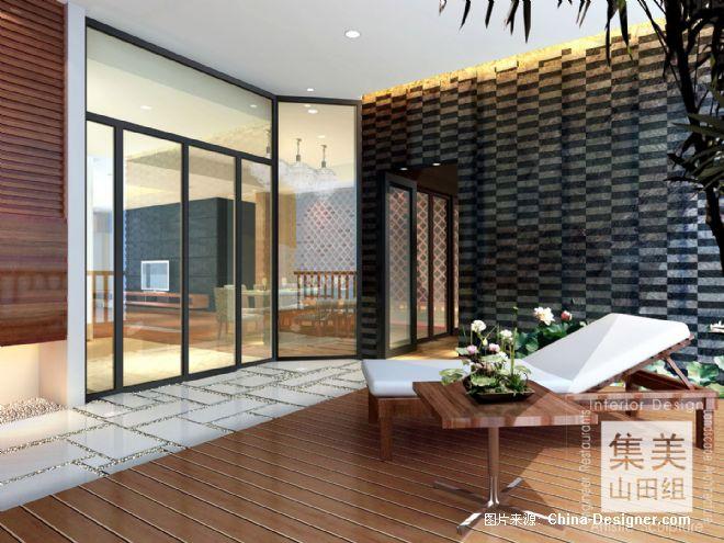 滨江东某住宅样板房3-吴宗建的设计师家园-现代