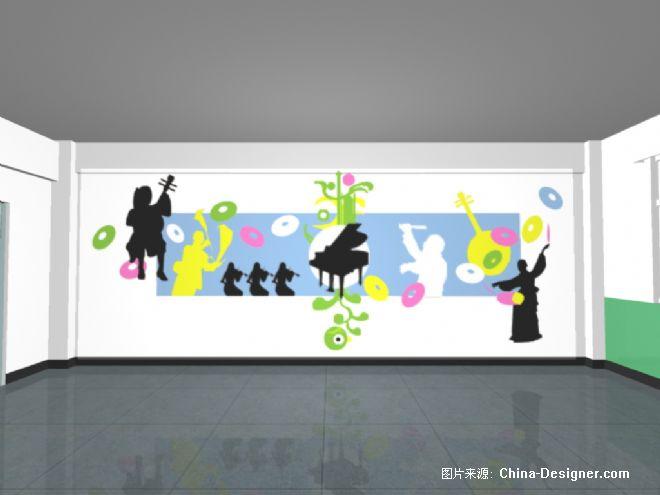 音乐教室主题墙-于文殊的设计师家园-绚丽,音乐教室图片