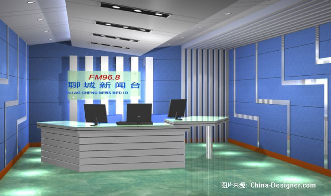 新闻直播室-广州佳音声学灯光工程设计有限公司的设计师家园-电台