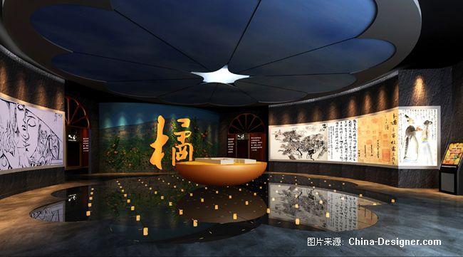 临展序厅-天羽设计工作室的设计师家园-大厅,博物馆,现代