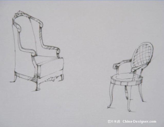 欧式家园-李渭的设计师断面-欧式cad绘制纵横家具图片