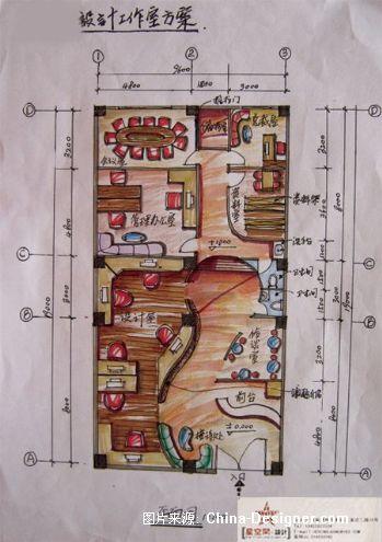 工作室家园星光-陈平面的设计师方案-办公室,现代酒v家园盖图片