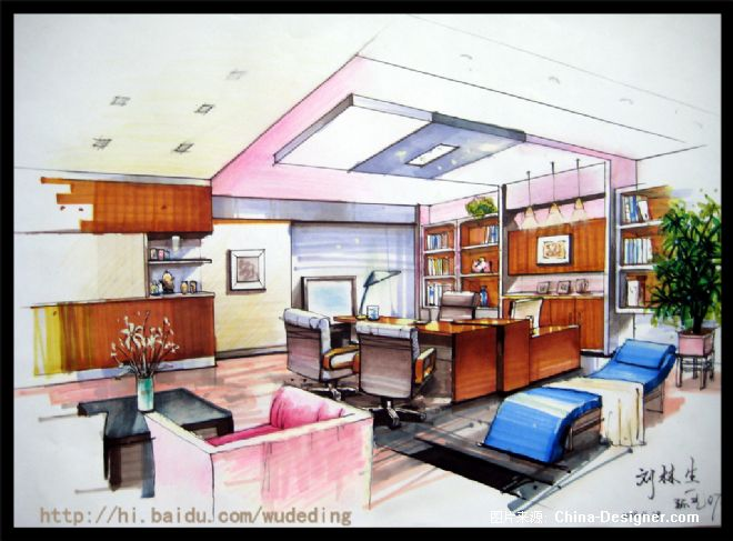 办公室 家居 起居室 设计 装修 660_487图片