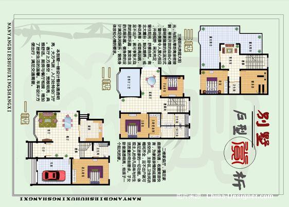 别墅户型设计分析-王彬的设计师家园-田园,白色,阳台,跃层,30-50万