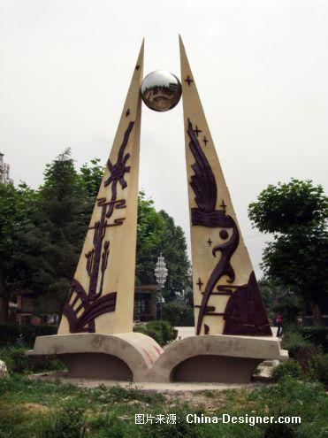标志雕塑-杨胜武的设计师家园-现代