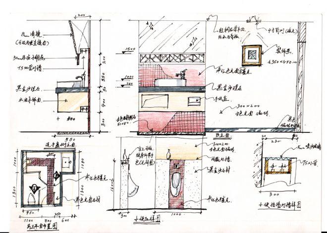 室内设计师可不可以只用手绘草图,请他人做电脑效果图