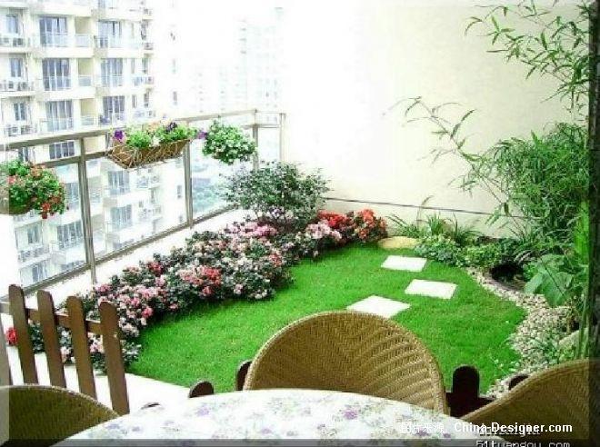 屋顶花园设计效果图-屋顶花园的设计师家园-别墅,绿色,欧式