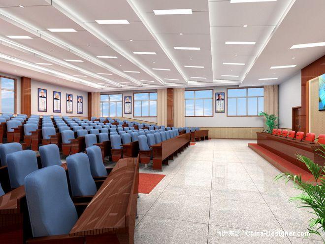 《财经学校报告厅》-设计师:王鑫.设计师家园-王鑫室图片
