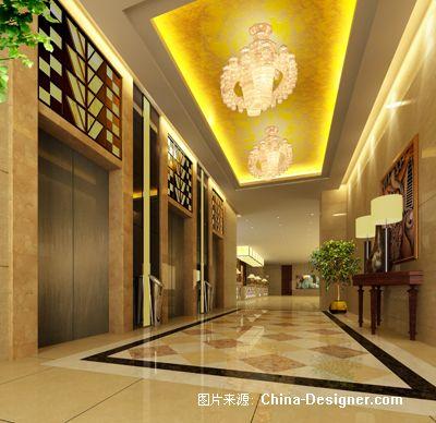 电梯间副本-程文的设计师家园-现代图片