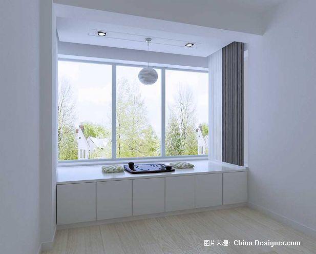 主卧地炕-崔文平的设计师家园-1-5万,三居,卧室,白色,现代