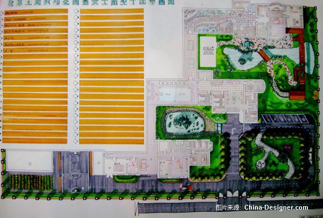北京王府农场花园平面图-北京桦木森装饰,园林,景观设计工作室的设计