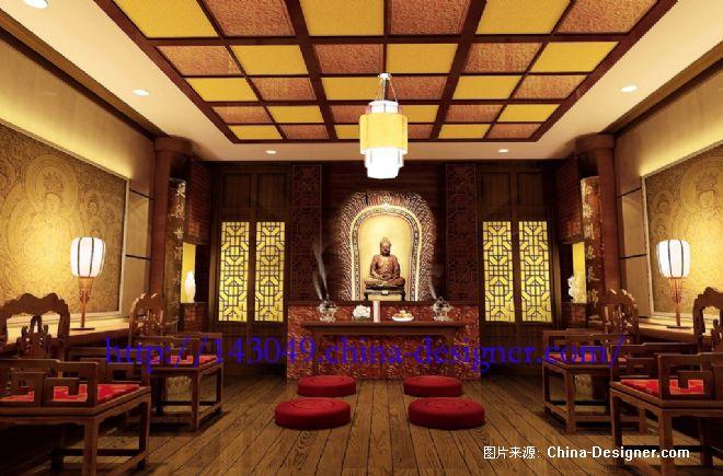 佛堂副本-蔡文华的设计师家园-200万以上,别墅,视听间,黑色,奢华,沉稳图片