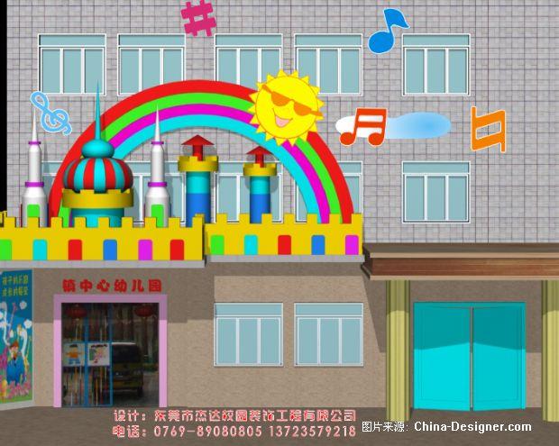 幼儿园门面装修-杰达校园装饰工程有限公司的设计师家园-现代