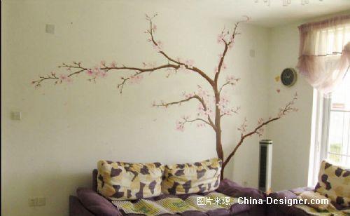 愛尚藝術墻繪-愛尚藝術墻繪的設計師家園-墻繪,客廳,現代