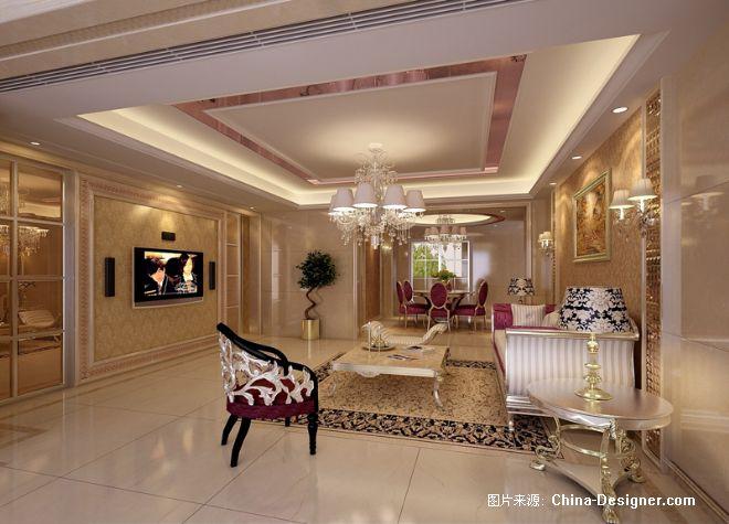 客厅成-陈水平的设计师家园-客厅