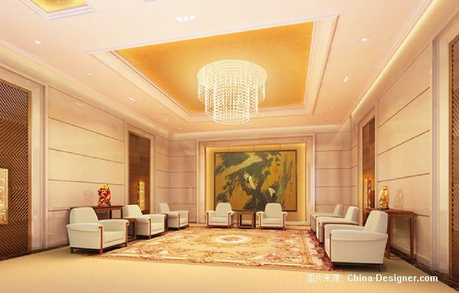 大会堂首长休息厅-张静的设计师家园-沉稳