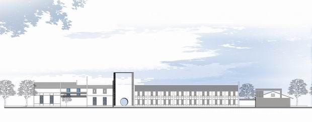 赏石园建筑立面图-小白的设计师家园-中式