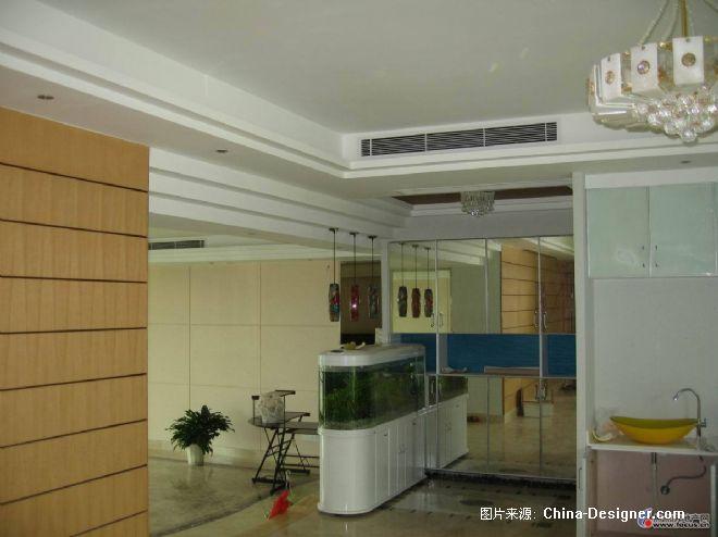 家用中央空调风口安装效果2-许建兵的设计师家园-天花暗藏风管式空调图片
