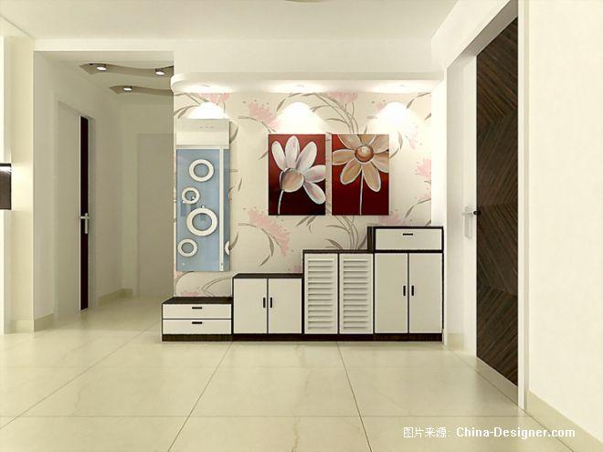 鞋柜-郭丙其的设计师家园-衣帽间,白色,现代