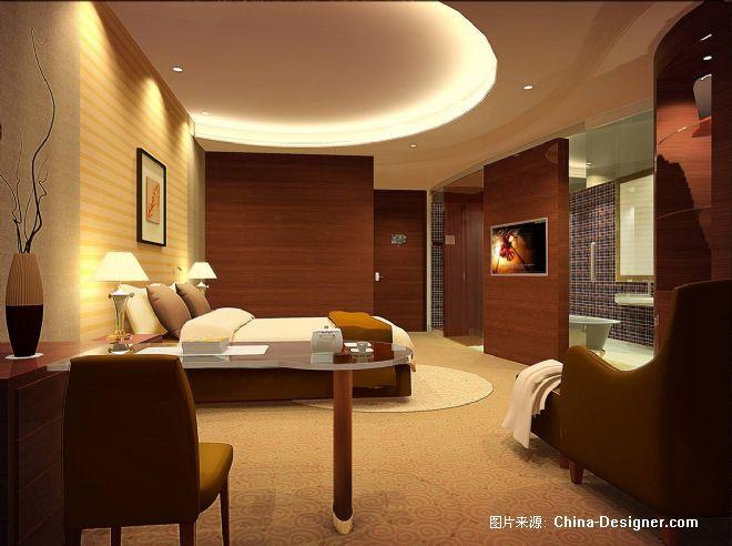 标准单人客房-张静的设计师家园-现代
