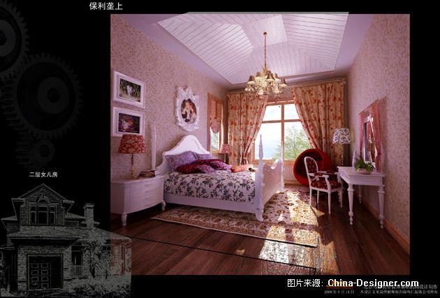 06女儿房  标签:别墅  卧室  紫色  温馨  新古典  奢华  欧式  沉稳