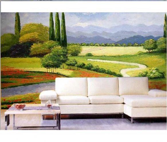 云南昆明丹青阁艺术墙体手绘工作室